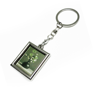 鑰匙圈-相框Metal Photo Frame Keychain