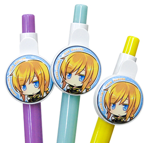 Button Badge Ball Pen
